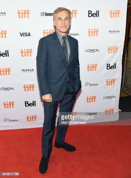 Christoph Waltz attends the 'Downsizing' special presentation screening during the 2017 Toronto International Film Festival at The Elgin on September...