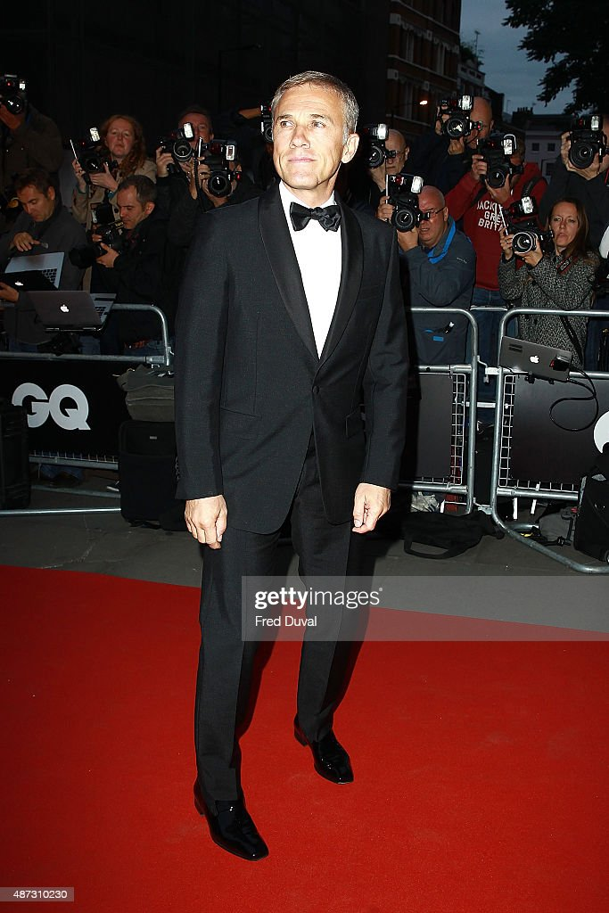 Christoph Waltz attends the GQ Men Of The Year Awards at The Royal Opera House on September 8, 2015 in London, England.