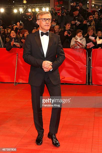 Christoph Waltz attends 'The Grand Budapest Hotel' Premiere Audi At The 64th Berlinale International Film Festival at Berlinale Palast on February 06...