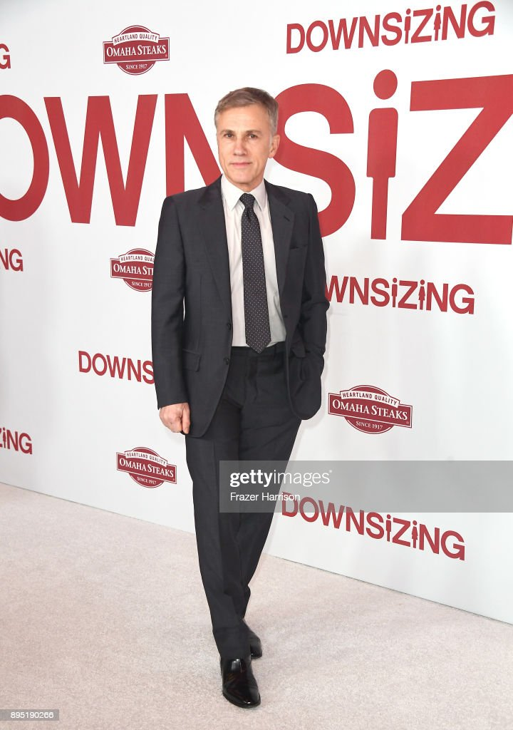Christoph Waltz attends the Los Angeles Special Screening of 'Downsizing' at The Regency Village Theatre on December 18, 2017 in Westwood, CA.