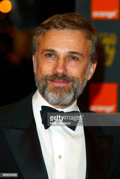 Christoph Waltz attends The Orange British Academy Film Awards 2010 at The Royal Opera House on February 21 2010 in London England