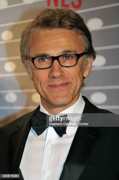 Christoph Waltz attends the 'Palme D'Or Winners dinner' during the 66th Cannes International Film Festival