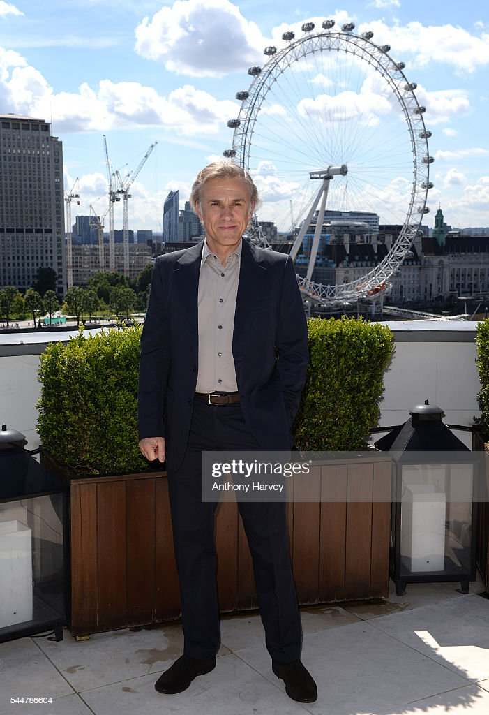 Christoph Waltz attends the photocall for 'The Legend Of Tarzan' at Corinthia London on July 4, 2016 in London, England.