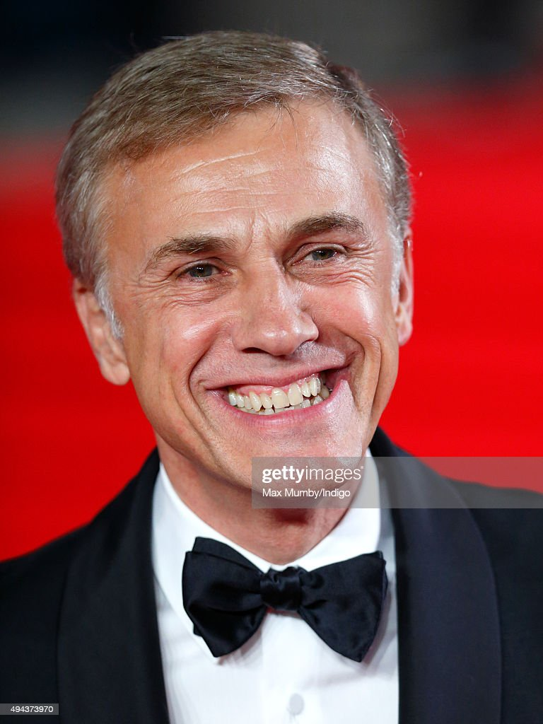 Christoph Waltz attends the Royal Film Performance of 'Spectre' at The Royal Albert Hall on October 26, 2015 in London, England.