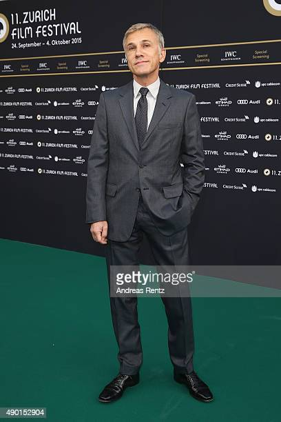 Christoph Waltz attends the special screening 'Inglourious Basterds' during the Zurich Film Festival on September 26 2015 in Zurich Switzerland The...