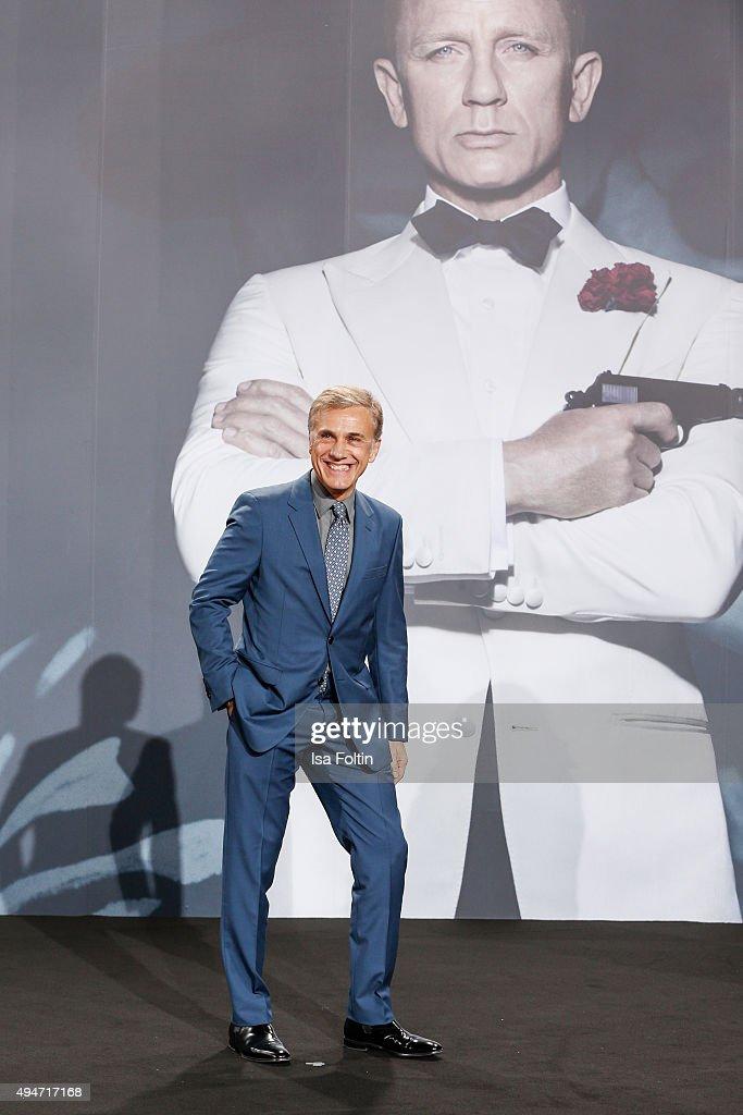 Christoph Waltz attends the 'Spectre' German Premiere on October 28, 2015 in Berlin, Germany.