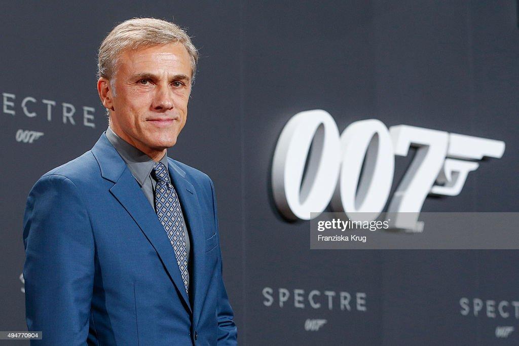 Christoph Waltz attends the Spectre' German Premiere on October 28, 2015 in Berlin, Germany.