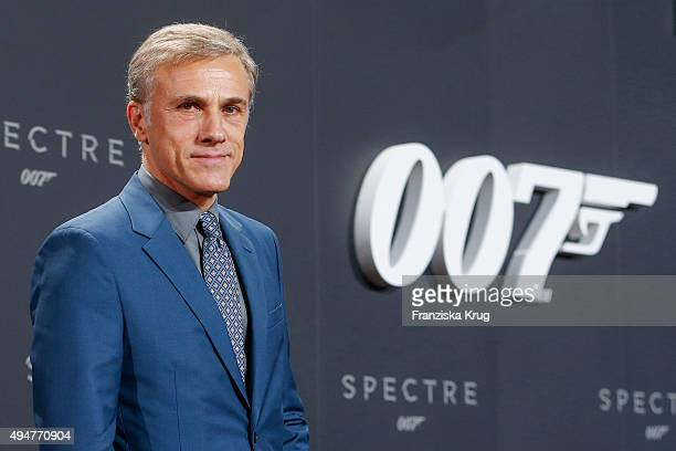 Christoph Waltz attends the Spectre' German Premiere on October 28 2015 in Berlin Germany