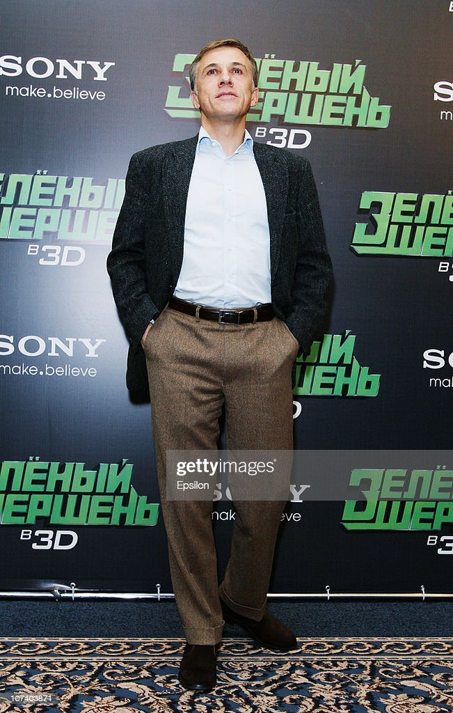Christoph Waltz during the 'The Green Hornet' film photocall at the
