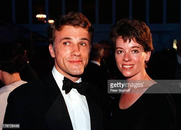 """Christoph Waltz mit Ehefrau Jackie, ARD-""""Die Nacht der Stars - Verleihung vom Deutschen Bundesfilmpreis"""","""