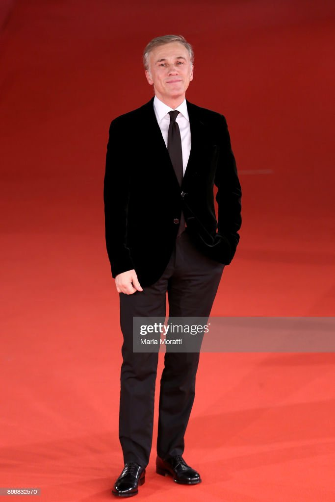 Christoph Waltz walks a red carpet for 'Hostiles' during the 12th Rome Film Fest at Auditorium Parco Della Musica on October 26, 2017 in Rome, Italy.