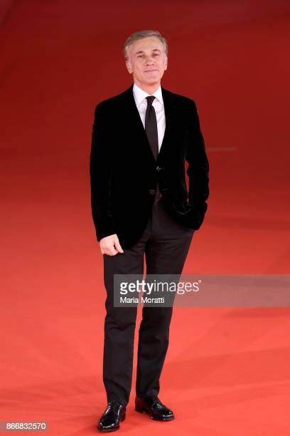 Christoph Waltz walks a red carpet for 'Hostiles' during the 12th Rome Film Fest at Auditorium Parco Della Musica on October 26 2017 in Rome Italy