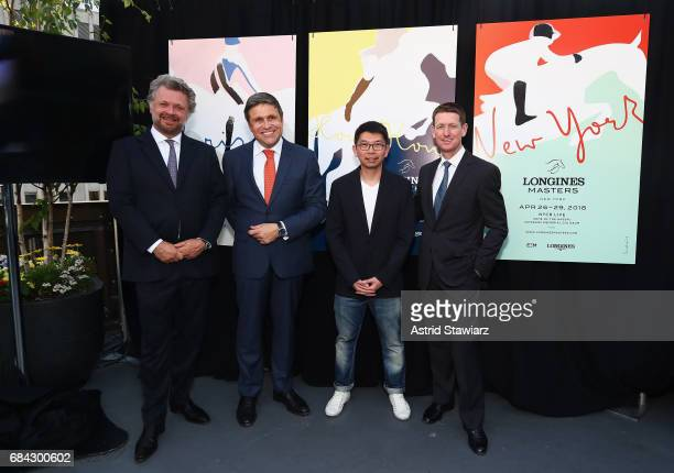 Christophe Ameeuw Founder and CEO of EEM JuanCarlos Capelli Longines Vice President and Head of International Marketing artist Sirichai and Mclain...