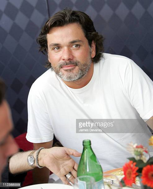 Christophe Barratier during 2004 Toronto International Film Festival Unifrance Press Luncheon at Prego della Piazza in Toronto Ontario Canada