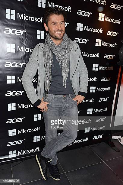 Christophe Beaugrand attends the Acer Pop Up Store Launch Party at Les Halles on November 20, 2014 in Paris, France.