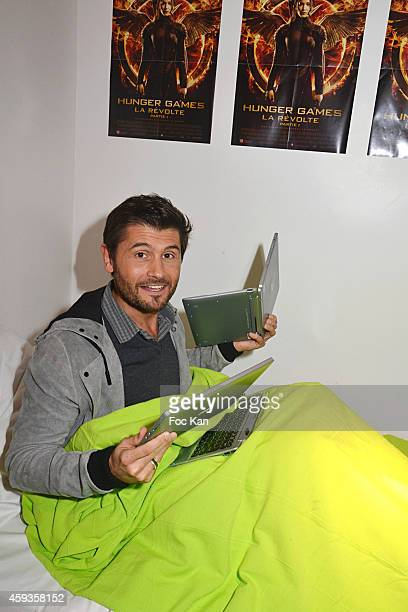 Christophe Beaugrand attends the Acer Pop Up Store Launch Party at Les Halles on November 20 2014 in Paris France