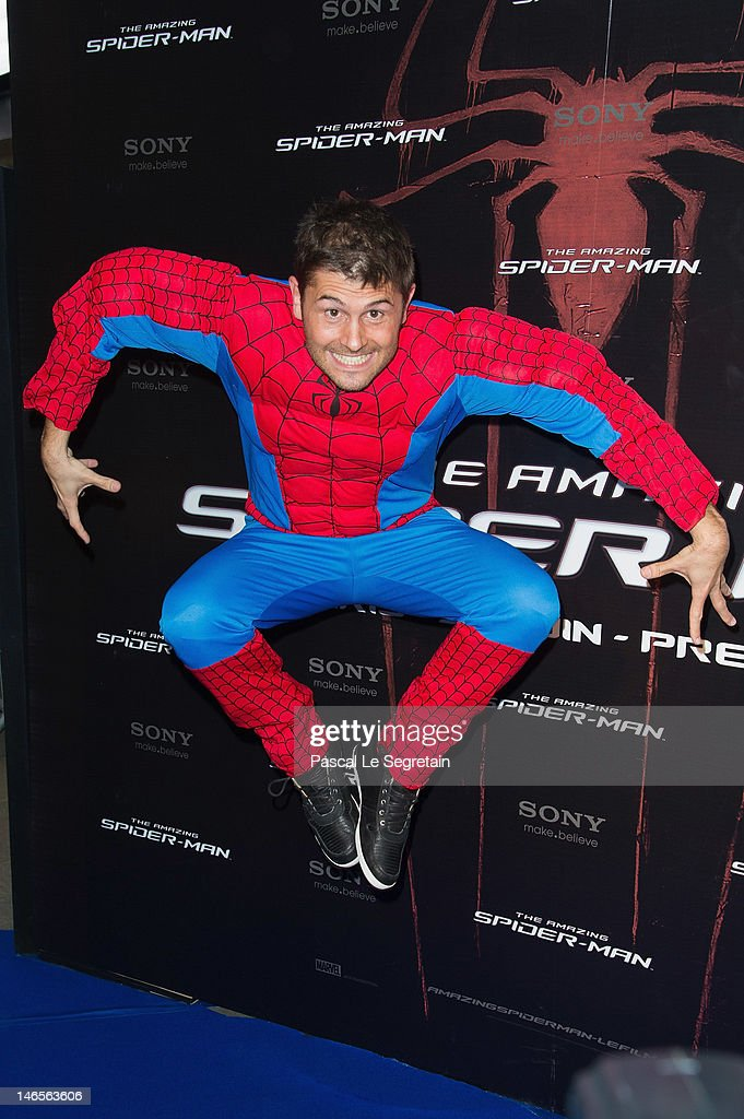 Christophe Beaugrand attends 'The Amazing Spider-Man' Paris Film premiere at Le Grand Rex on June 19, 2012 in Paris, France.
