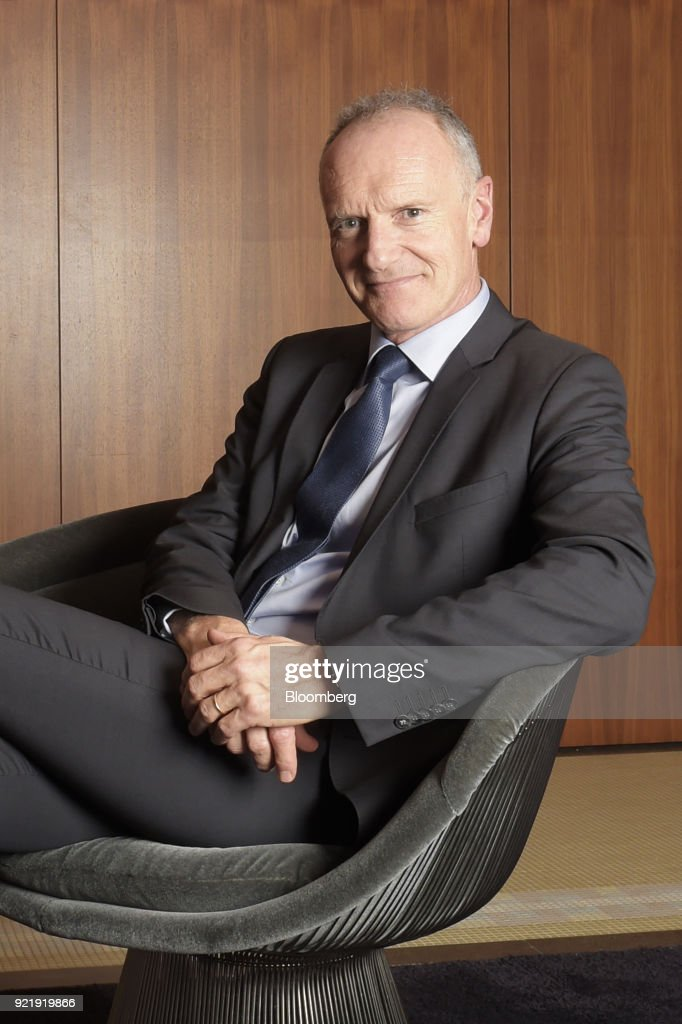 Unibail-Rodamco CEO Christophe Cuvillier Interview : News Photo