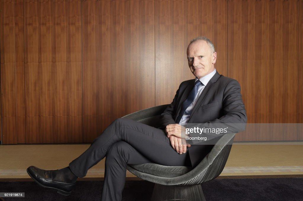 Unibail-Rodamco CEO Christophe Cuvillier Interview : News Photo
