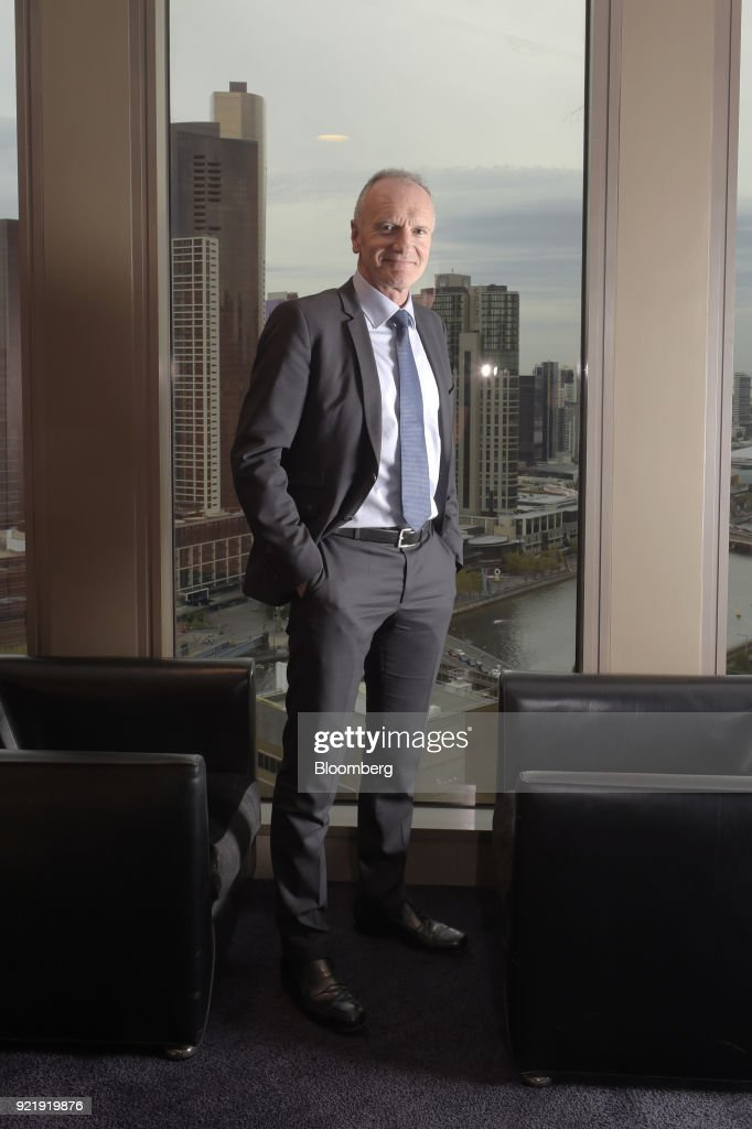 Christophe Cuvillier, chief executive officer of Unibail-Rodamco SE, stands for a photograph in Melbourne, Australia, on Wednesday, Feb. 21, 2018. Cuvillier said shopping malls must evolve to counter the threat of online retailers such as Amazon.com Inc., amid his companys A$21 billion ($17 billion) bid to buy Australias Westfield Corp. Photographer: Carla Gottgens/Bloomberg via Getty Images