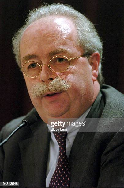 Christophe de Margerie president of Exploration and Production at Total SA speaks at the International Oil Summit in Paris France Friday April 7 2006