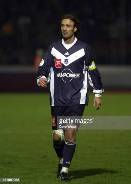 Christophe DUGARRY Creteil Lusitanos / Bordeaux Coupe de France 2002 Photo Dave Winter / Icon Sport