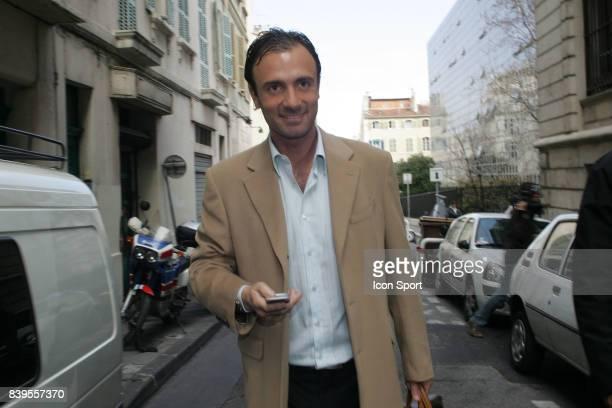 Christophe DUGARRY Proces des Comptes de l'olympique de Marseille Marseille