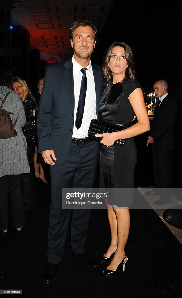 Christophe Dugarry and guest attends the Launch Party for the Ingenieur Automatic Edition Zinedine Zidane watch, held at Palais de Chaillot, on June 16, 2008 in Paris, France.