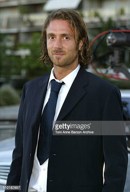 Christophe Dugarry during 2003 Laureus World Sports Awards Arrivals at Grimaldi Forum in Monte Carlo Monaco