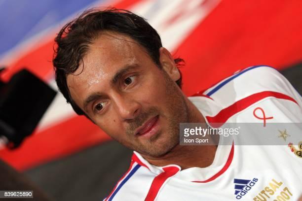 Christophe DUGARRY / France 98 RTL Futsal Palais Omnisports de Paris Bercy