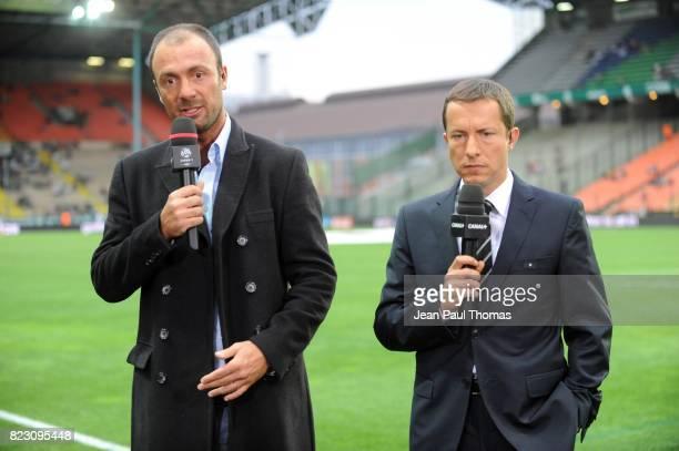 Christophe DUGARRY / Gregoire MARGOTTON Saint Etienne / Lille 35eme journee de Ligue 1