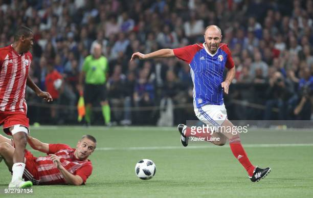 Christophe Dugarry of France in action during the Friendly match between France 98 and FIFA 98 at U Arena on June 12 2018 in Nanterre near Paris...