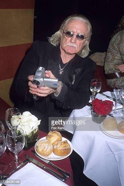 Christophe during Mumm's Bubbles and Roses Party April 24 2006 at Club Castel in Paris France