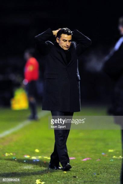 Christophe GALTIER - - Villefranche sur Saone / Saint Etienne - 16e de finale de Coupe de France - Stade Armand Chouffet,