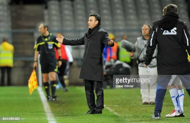 Christophe GALTIER - - Auxerre / Saint Etienne - 1/4 de Finale Coupe de la Ligue, Photo: Dave Winter / Icon Sport