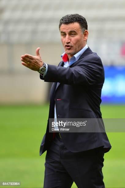 Christophe GALTIER - - Reims / Saint Etienne - 33eme journee de Ligue 1, Photo : Dave Winter / Icon Sport