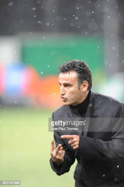 Christophe GALTIER - - - Saint Etienne / Nice - 15eme journee de Ligue 1 -