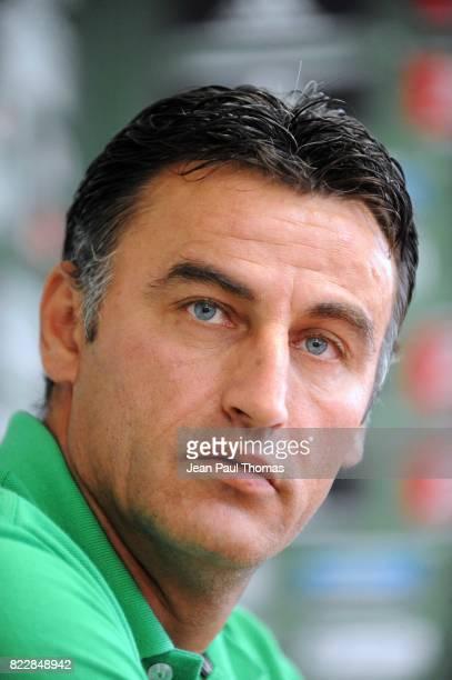 Christophe GALTIER - - Presentation des nouveaux joueurs - Saint Etienne - Etrat,
