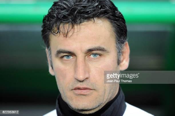 Christophe GALTIER - - Saint Etienne / Olympiakos - 16eme finale Coupe de l UEFA 2008/2009 -