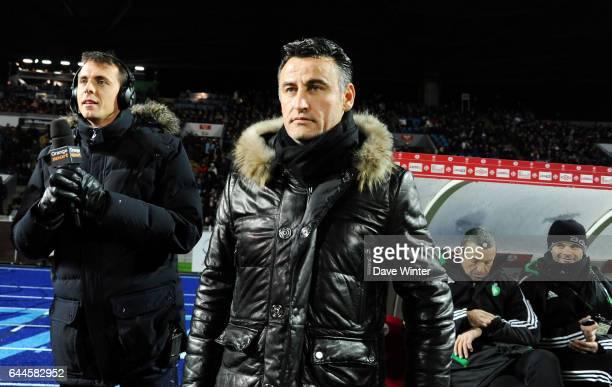 Christophe GALTIER - - Lille / Saint Etienne - 21e journee de Ligue 1. Photo: Dave Winter / Icon Sport.