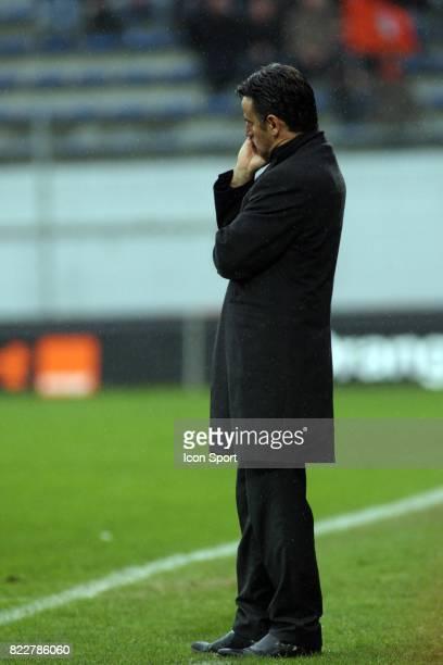 Christophe GALTIER - - Lorient / Saint Etienne - 30eme journee de Ligue 1 ,