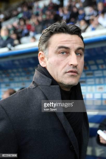 Christophe GALTIER - - Auxerre / Saint Etienne - 22e journee Ligue 1 - Stade Abbe Deschamps,
