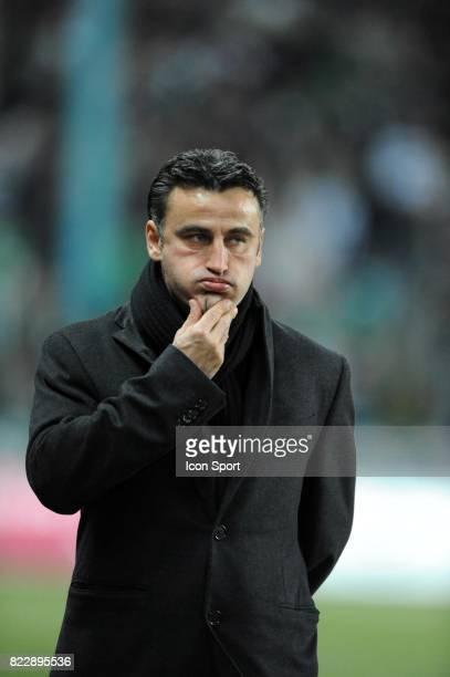 Christophe GALTIER / Kevin MIRALLAS - - Saint Etienne / Nancy - 29e journee Ligue 1,