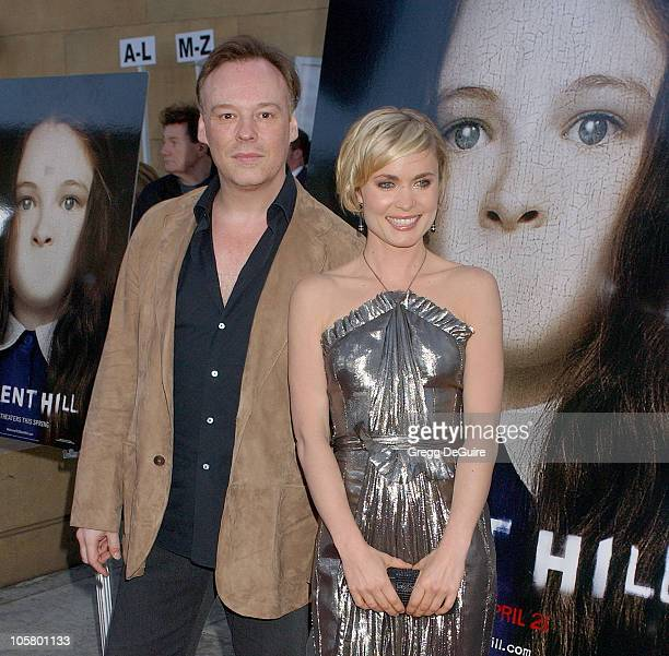 """Christophe Gans, director, and Radha Mitchell during """"Silent Hill"""" Los Angeles Premiere - Arrivals at Egyptian Theatre in Hollywood, California,..."""