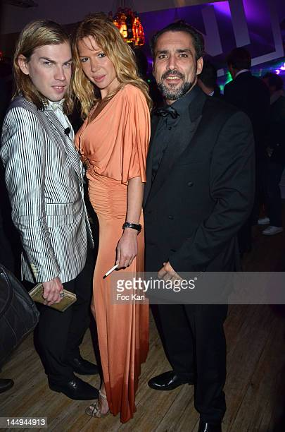 Christophe Guillarme Alexandra Genoves and Jean Pierre Martins attend the Citizen K 20th Anniversary Cocktail 65th Annual Cannes Film Festival At La...