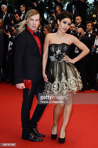 Christophe Guillarme and Josephine Jobert attend the Opening Ceremony and 'The Great Gatsby' Premiere during the 66th Annual Cannes Film Festival at...