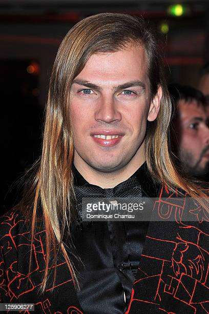Christophe Guillarme arrives for the Sidaction gala dinner held at the Pavillon d'Armenonville on January 27, 2011 in Paris, France.
