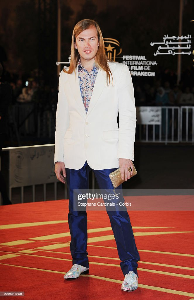 Christophe Guillarme attends the Short Films Award Ceremony, during the10th Marrakech Film Festival, in Marrakech.