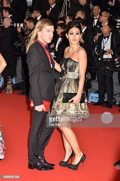Christophe Guillarme;and Josephine Jobert attend the Opening Ceremony and Premiere of 'The Great Gatsby' at The 66th Annual Cannes Film Festival at...