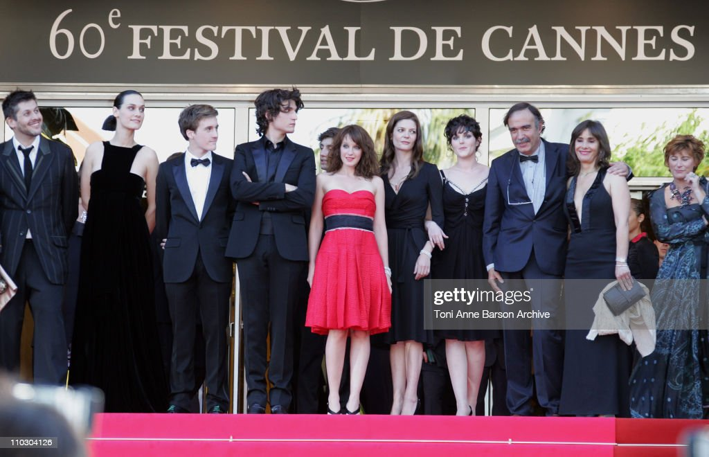 Christophe Honore, director, Clothilde Hesme, Gregoire Leprince-Ringuet, Louis Garrel, guest, Ludivine Sagnier, Chiara Mastroianni, Paulo Branco, producer and his wife